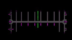 ПРК - Эскиз радиаторного профиля AB0487