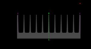 ПРК - Эскиз радиаторного профиля AB0575